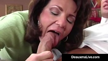 thai naked girls busty cougar deauxma fucks the tax man in her house oho