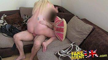 fakeagentuk tall blonde milf xxxwx craves hard cock in fake casting