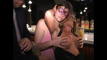 pink nipple pornhut milf anna sucks tits cunt and cock at trapeze club bar
