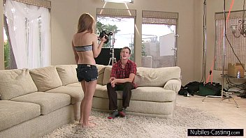nubiles casting - can xxvideso 2019xx sanilion he convince her to fuck on camera