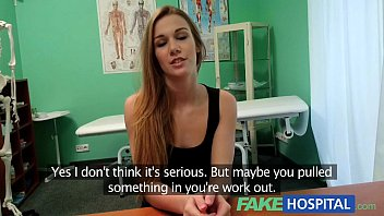 comedy xxx fakehospital hot 20s gymnast seduced by doctor and given creampie