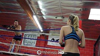 hd fantasyhd - natalia starr wrestles her way body massage sex into fuck session