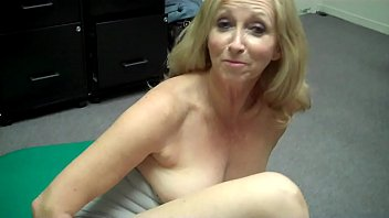grandma fingers herself then freaks out at porn casting behind brazzer com the scenes