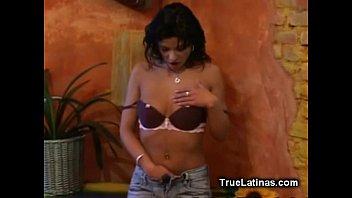 sexy latina american sex videos striptease and masturbation