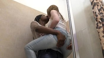ebony and katursex ginger beauties drenched interracial