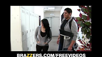 bad chick xxx school  com tiffany t fucks the school janitor in front of her man