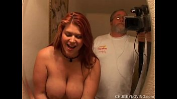 raunchy red head eden is xxx fuking a cute chubby chick who loves to fuck