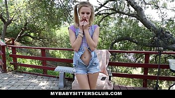myb.sittersclub - petite xxx vidiyo b. sitter rachel james caught masturbating