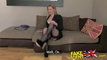 fakeagentuk stocking clad posh milf willing to katrina kaif salman khan sex try it all on the casting couch