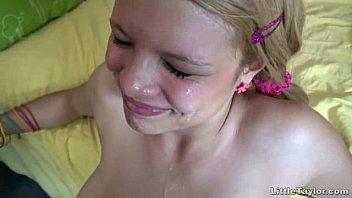 blonde teen getting a twat pounding www pornpors com plus a facial