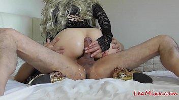 multiple sanilion pron orgasms of lea mixx drive me crazy part 2