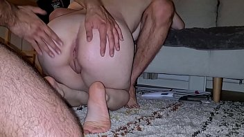 free free porn vid - first threesome for my friend with horny girl who loves deepthroat and anal sex - part 3
