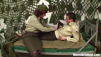 pierced pussy senior army officer xxex reprimands a soldier