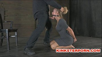 slaves are in a pervert submission - bond cane and xvideooldman cook sucking