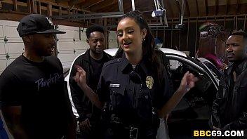 police xxx98 officer eliza ibarra deepthroats every big black cock