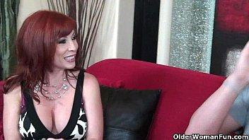 goli sex redhead milf in stockings gets fucked