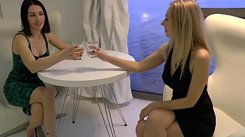 two hot www xxx bot com wifes have fun while their husbands are at work