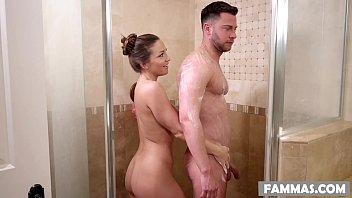 stepsister mother and son sex massage - abigail mac