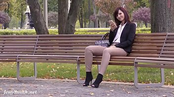 wrong moment to ask her for a date. nacked girls caught wearing crotchless pants