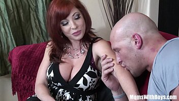 redhead mom brittany o connell wxxxxx pierced pussy in sexy stockings fucked