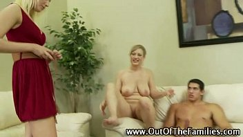 mom bideo xxx and daughter team try some step cock