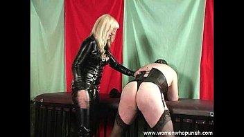 hot hot sex femdom spanking a crossdresser