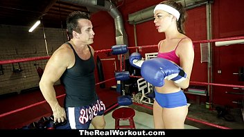 therealworkout - horny brunette stella daniels fucked in 89com the gym
