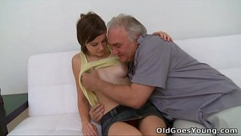 old goes famili sex young - old guy needs to play with a cute young pussy