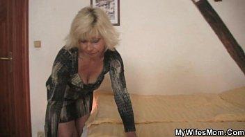 son seduction blonde m. in law seduces me into sex