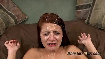 monsters of first time sex vedio jizz facial compilation