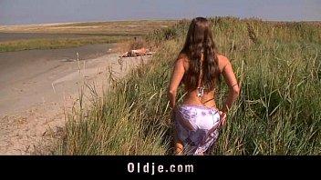 big boobs teeny renee grace sex fucking oldman on the beach