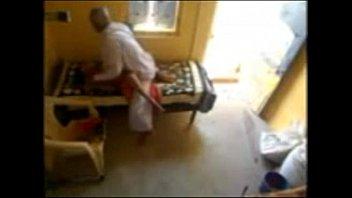 old tharki baba rubbing his maid 4m behind n seduced nadine kerastas nude n fuccked