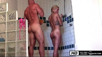 kissa sins gets xxx sexy hot video fucked by johnny sins in the shower in mexico