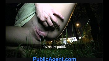 publicagent sexy brunette tushi com loves my charm and money.