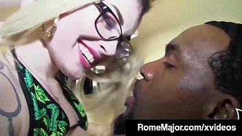 black bull rome major cums on barzzer inked chloe carter s glasses