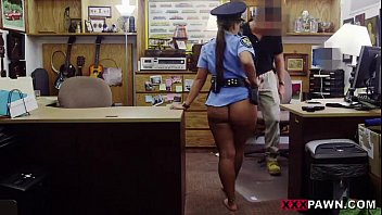 babe in a police uniform banged up her tight sex vidyo butt on xxxpawn.pornotagir.com