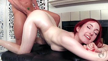 arched flexible redhead penny lay sexy prone vedio has oiled sex with laz fyre