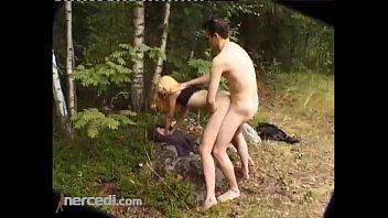 blonde fucking xxgirlx in the woods