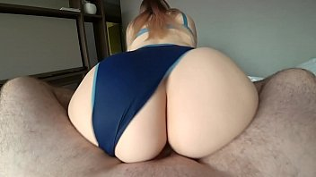 girl with a big pussy licking ass jumps on a dick