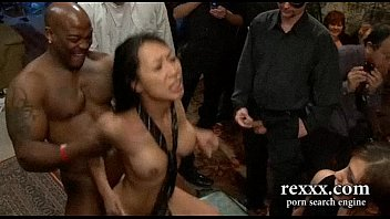 hottest sexvideso brunette brutally gangbanged by huge cocks and strapon