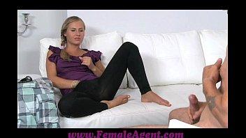femaleagent sex hd vidio com mutual masturbation in casting interview