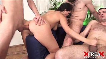 gang bang and marge simpson rule 34 double anal penetration for juliana grandi