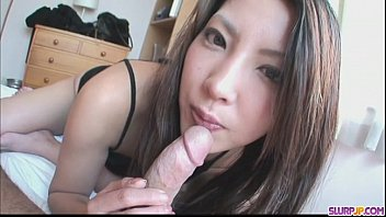 saya shows her blowjob skills as she sucks isis love anal him dry