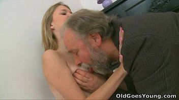 old goes young - maya s tiny ftv nude tits get bounced when old dude fucked her