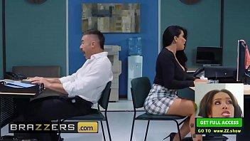 big tits at work - romi rain charles dera - work hard fuck sleepwalking porn harder - brazzers