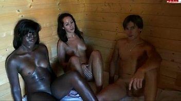 u porn sauna threesome