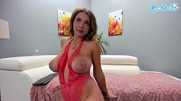camsoda - gabbie www xxx vodes com carter big tits masturbates on couch