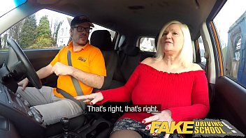 very very sexy blue film fake driving school busty mature milf sucks and fucks lucky instructor
