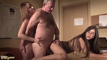sexy secretary joins in hardcore threesome with thumb zila her boss and gets deep pussy fuck