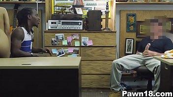 xxxsunny pawn shop owner fucks his girl